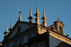 Klassikerkyrka i Porto arkivbild