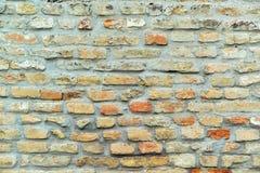 Klassische alte Backsteinmauerbeschaffenheit Lizenzfreie Stockbilder