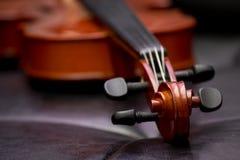 Klassische alte Violinenweinlese Stockbilder
