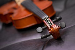 Klassische alte Violinenweinlese Stockfotografie
