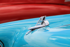 Klassische amerikanische Autodetails Stockbilder