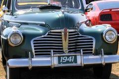 Klassische amerikanische Autofront Stockfotos