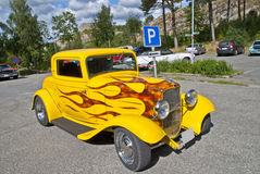 Klassische amerikanische Autos (beheizter Stab 1932 der Furt) Stockfotografie
