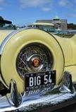 Klassische amerikanische Autos bei Brooklands Lizenzfreie Stockfotografie