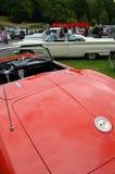 Klassische amerikanische Autoshow Stockbild