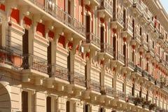 Klassische apulia Architektur, Bari, Italien Im Freien, Italien lizenzfreie stockfotografie