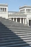 Klassische Architektur mit Jobstepps Stockfotografie