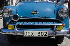 Klassische Auto-Frontseite stockbilder