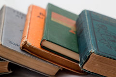 Klassische Bücher Stockbilder