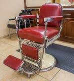 Klassische Barber Chair Lizenzfreie Stockfotografie