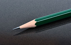 Klassische Bleistift-Nahaufnahme Lizenzfreies Stockbild