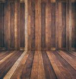 Klassische braune Holztüren Stockbild