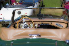 Klassische Bristish-Autos Stockbild