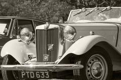 Klassische Bristish-Autos Stockfotos