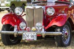 Klassische Bristish-Autos Lizenzfreie Stockbilder