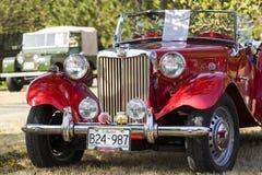 Klassische Bristish-Autos Lizenzfreie Stockfotografie