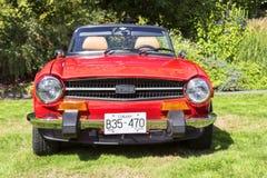 Klassische Bristish-Autos Lizenzfreies Stockbild
