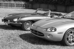 Klassische Bristish-Autos Stockfoto