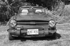 Klassische Bristish-Autos Lizenzfreie Stockfotos