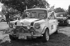 Klassische britische Autos Lizenzfreie Stockfotos