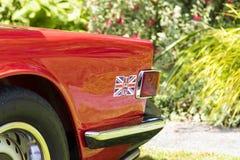 Klassische britische Autos Lizenzfreies Stockfoto