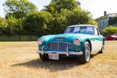 Klassische britische Autos Stockfoto
