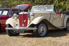 Klassische britische Autos Lizenzfreie Stockbilder
