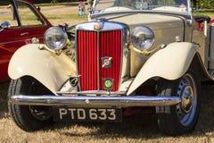Klassische britische Autos Stockfotografie