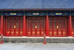 Klassische chinesische Architektur Stockbild
