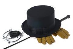 Klassische Dressageausrüstung getrennt Lizenzfreie Stockfotos