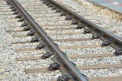 Klassische Eisenbahn oder Eisenbahn in Thailand 3 Stockfoto