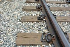 Klassische Eisenbahn oder Eisenbahn in Thailand 2 Lizenzfreie Stockbilder