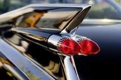 Klassische Fünfzigerjahre amerikanisches Auto-Anreden Stockfoto
