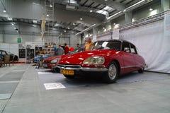 Klassische französische Autos Lizenzfreie Stockfotos