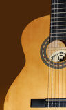 Klassische Gitarre Stockfotografie