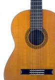 Klassische Gitarren-Karosserie Stockfotografie