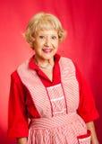 Klassische Großmutter oder Hauswirtschaftsleiterin Lizenzfreies Stockfoto