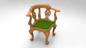 Klassische Holzstühle Lizenzfreie Stockfotografie