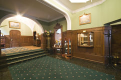 Klassische Hotelvorhalle Lizenzfreie Stockfotos