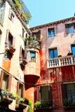 Klassische italienische Architektur Stockbild
