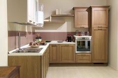Klassische Küche stockfotografie