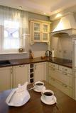 Klassische Küche und Tee Stockfotografie