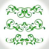 Klassische kalligraphische mit Blumenelemente Menü, Karte, Buch Lizenzfreies Stockfoto