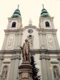 klassische Kirche in Wien Lizenzfreie Stockfotografie