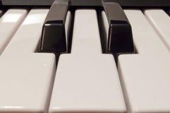 Klassische Klavierschlüssel Lizenzfreies Stockbild