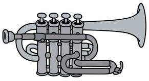 Klassische Konzerttrompete Lizenzfreie Stockfotografie