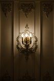 Klassische Leuchternahaufnahme Stockbilder