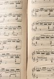 Klassische Melodie, Kunstmusik stockbilder
