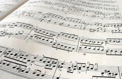 Klassische Melodie, Kunstmusik lizenzfreies stockbild