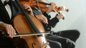 Klassische Musik-Konzert stock footage